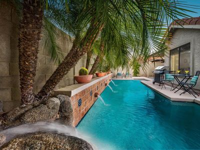 Photo for NEW LISTING! Dog-friendly home w/pool, backyard oasis-near golf, shops & dining