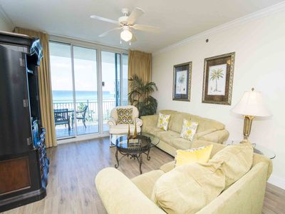Photo for Private Balcony W/ Water View, Lazy River and Lagoon Pool at Waterscape!