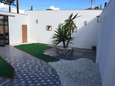Photo for Beautiful villa with private pool barbecue bar garden and playground
