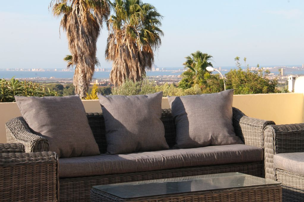 Luxurious Holiday Apartment With Sea View At La Manga Club Los Olivos 2 Outdoor Pool