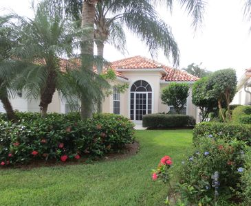 Photo for Lakefront Dog friendly heated pool home in Village Walk, tennis, den/office, bar