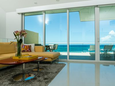 Photo for Relax and let your soul fly on this Penthouse with THE OCEAN VIEW