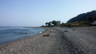 Photo for Furnished apartment facing the sea Calabria