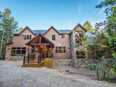 Photo for Lion and the Lamb Lodge. Escape to 5,300 sq. feet of elegance and comfort