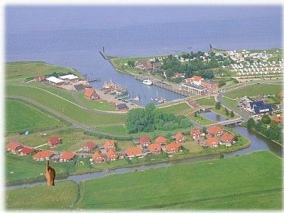 Photo for Directly at the cutter harbor of Fedderwardersiel
