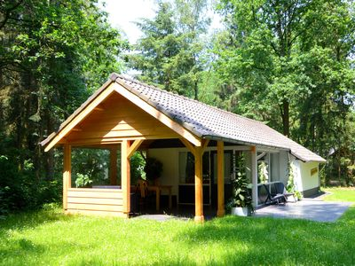 Photo for Beautiful modern and completely free situated holiday home on a forest park