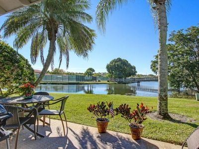 Photo for DIRECT WATERFRONT  POOL, PRIVATE/SAFE -  GOLF/TENNIS & NATURE! PRIME LOCATION!