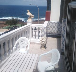 Photo for Big house - panoramic ocean view for 8 people. Las Palmas Gran Canaria