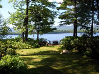 Photo for Squam Lake, stunning views, private peaceful retreat