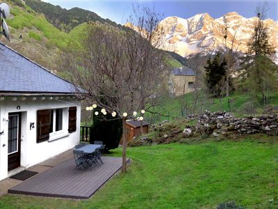 Photo for Exceptional house with garden in Gavarnie