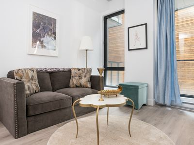 Photo for Sophisticated 1BR in Old Montreal by Sonder