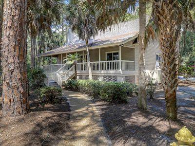 Beautiful Lowcountry Style Home with Expansive Front Porch Steps to the Beach!