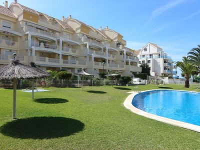 Photo for Bilbo apartment in Dénia with air conditioning, private parking, private terrace & lift.