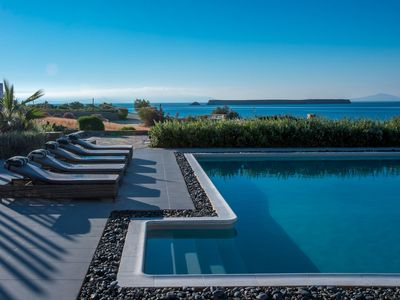 Photo for De Luxe Villa with Sea View and Swimming Pool Up to 7 Persons