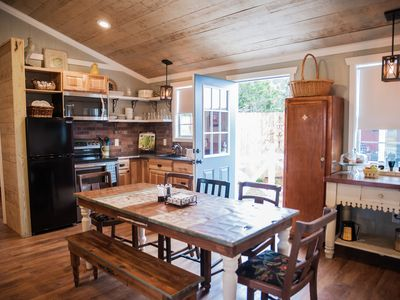 Photo for Prime Location to Venues! Gorgeous new Hill Country Cottage for 10 by Camp Lucy