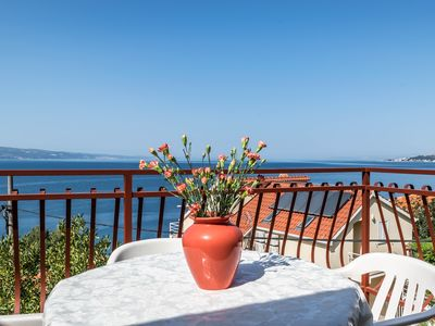 Photo for One bedroom apartment with balcony - sea view