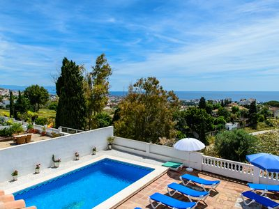 Photo for Villa Ladida - Private Villa with Pool close to centre of Benalmadena Pueblo