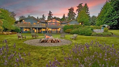 Photo for Secluded, Gorgeous Sound and Mountain-View Retreat nestled in 5.5 acre gardens