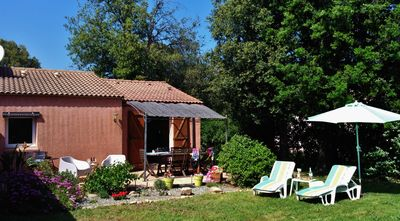 Photo for Rent a mini villa in a quiet garden with 4/6 pers 600m walk from a sandy beach