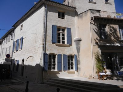 Photo for Villeneuve les Avignon, Town house 6 people Air-conditioned, old center