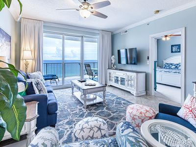 Photo for ☀Ocean Villa 802-2BR GulfFront View☀Oct 19 to 22 $612 Total! 2 Pools! FunPass