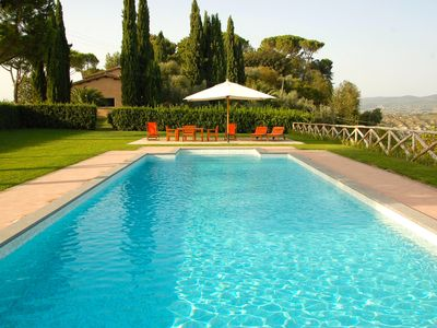 Photo for Exclusive Villa with Private Pool and Tennis in Rome Countryside - Villa Mary
