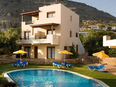 Photo for Beautiful Villa in Pefkoi Rhodes with Swimming Pool