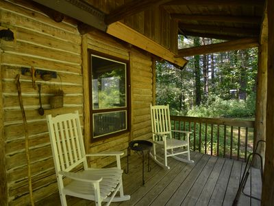 Photo for Over 200 private acres to explore, pet-friendly, Satellite WiFi, & pool table.