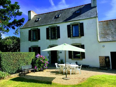Photo for Pretty Breton House for rent - great location - quiet and 1. 5 km from the sea