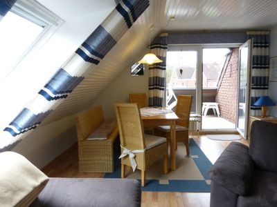 Photo for *** Apartment / Quiet, close to the beach and central / south-west roof terrace with Se