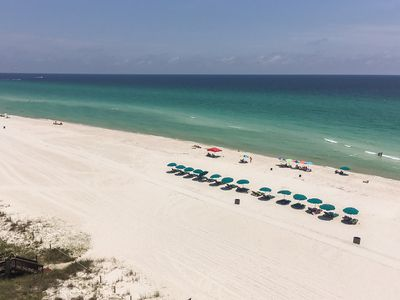 Photo for Beachfront condo with amazing gulf views, shared pool, and more!
