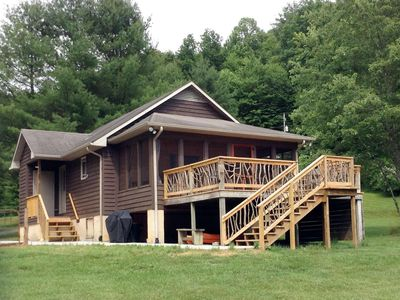 Photo for Creekfront Cabin, Newly Renovated, Pet Friendly