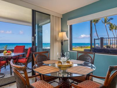 Photo for STEPS TO THE OCEAN, AMAZING END UNIT, GROUND FLOOR, CAIR, KONA REEF