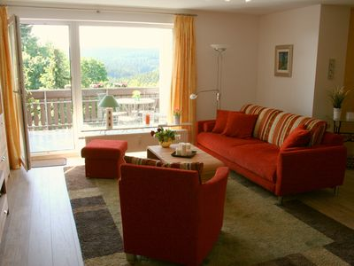 Photo for Comfort holiday apartment with mountain views and balcony in Hohegeiß