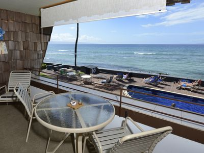 Photo for Beautiful oceanfront 1 bed 1 bath, second floor condo