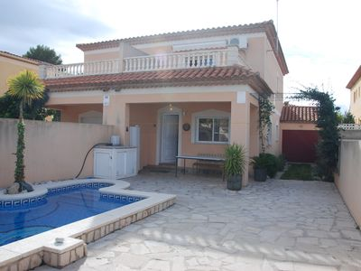 Photo for Holiday house in Spain with private pool in Miami Platja Costa Daurada beach 300 m.