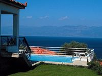 Fantastic seaview from the terrasse and pool