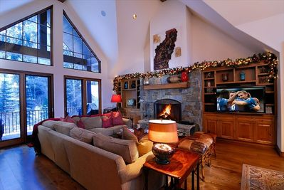great Room with beautiful mountain views