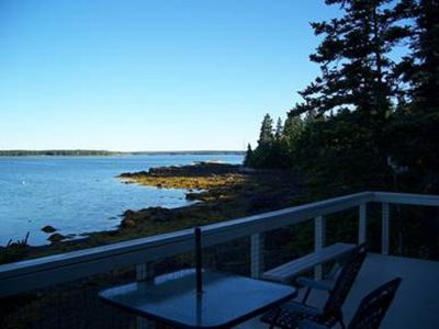 Photo for Cottage On Private Road Overlooking Western Way And Near Acadia National Park