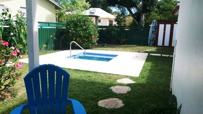 Photo for South Point Row: 1 Bed. Apt. + Plunge Pool - Surfing: The Best On The South!