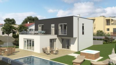 Photo for Modern Villa Terrazza, in Dalmatia, with a Pool