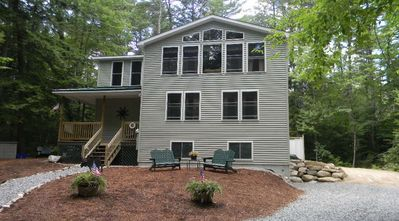 Photo for Great Vacation Home,  Heart of Lakes/Ski Region in Bridgton Me