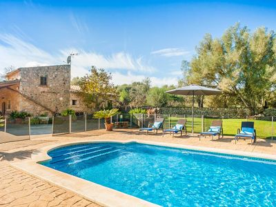 Photo for Finca Son Rossinyol - stone house in Mallorcan style with pool