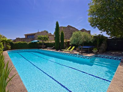 Photo for VILLAGE OF GOULT LARGE FAMILY HOUSE WITH SWIMMING POOL.