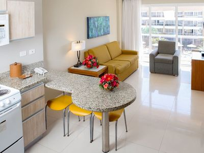 Photo for SUITE - 2 Bedrooms, 2 Bathrooms   - Full Kitchen and bath. Low level. -UNIT 17