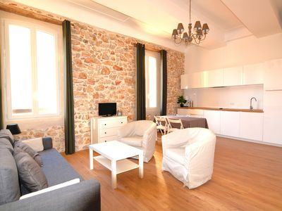 Photo for 2 bedroom apartment in the heart of Old Antibes