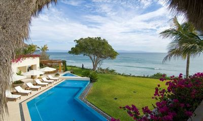 Photo for Stunning! Luxurious Villa on Private Beach with Amazing Staff