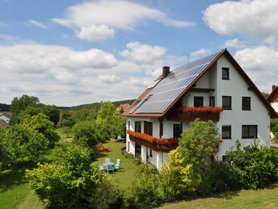 Photo for Quiet, acc. HOLIDAY `the heart of Franconia, away from traffic,