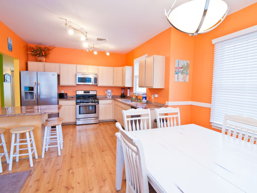 Superb Beach House Rentals In Atlantic City Nj Part - 14: Exquisite Kitchen Stocked With Essential Cooking And Eating Needs!