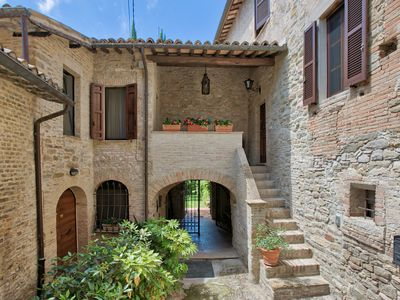 Photo for Villa at a Popular Place in Bevagna with Terrace & Garden